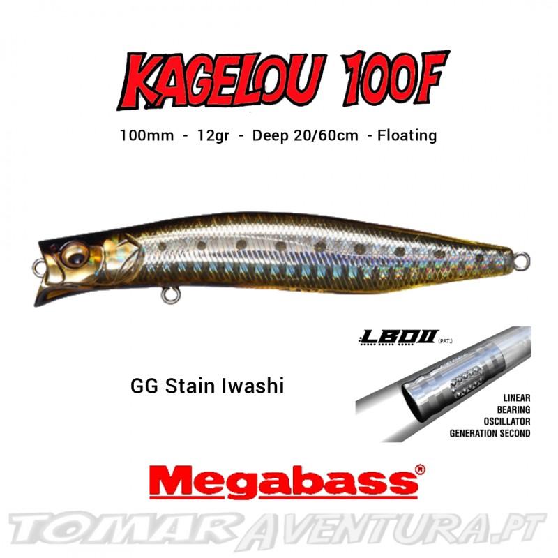 Amostra Megabass Kagelou 100F