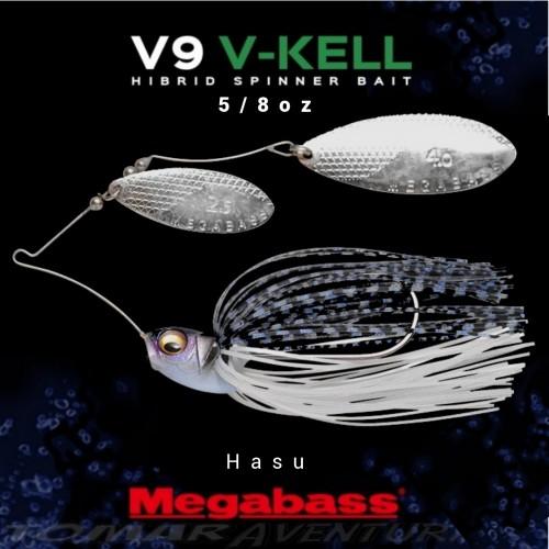 Spinnerbait Megabass V9 V-Keel 5/8oz