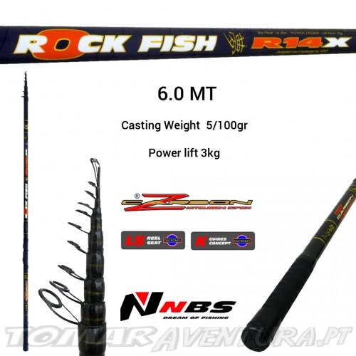 Cana NBS Rock Fish R14X 6.0MT Float