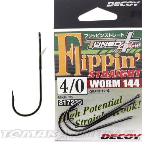 Decoy Flippin Straight Worm 144