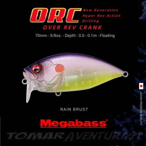 Megabass ORC Over Rev Crank