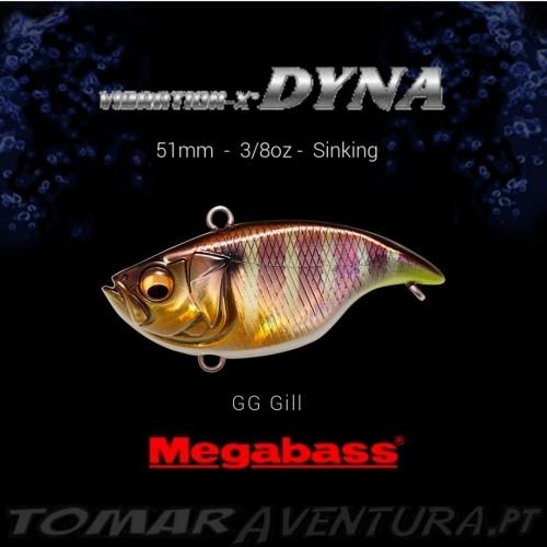 MEGABASS VIBRATION-X DYNA