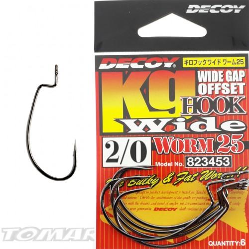 Decoy Worm 25 Kg Hook Wide