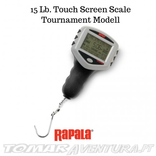 Balança rapala 15 Lb. Touch Screen Scale Tournament Model