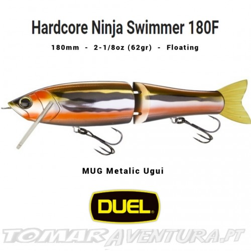 Swimbait Duel Hardcore Ninja Swimmer 180F