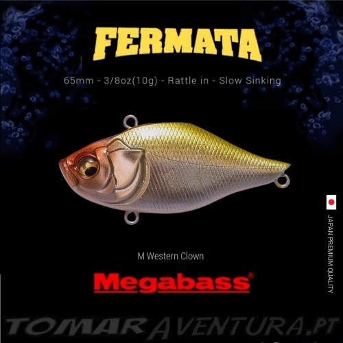 Megabass Fermata Rattle In