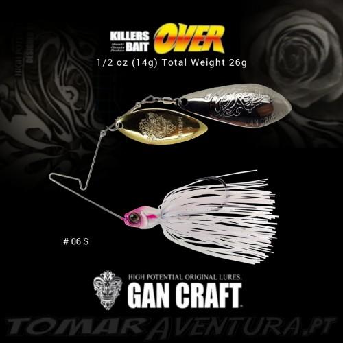 Spinnerbait Gan Craft Killers Bait Over 1/2oz
