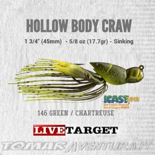 LiveTarget Hollow Body Craw 5/8 oz