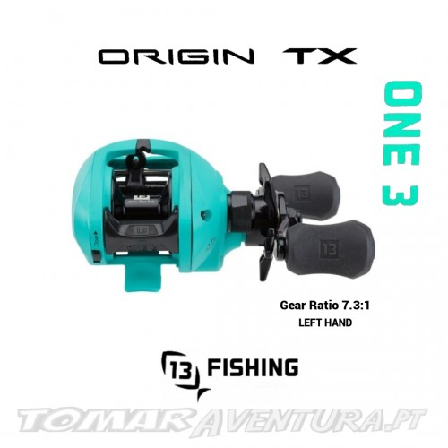 Carreto Baitcasting 13 Fishing ONE3 ORIGIN TX 7.3:1 LH