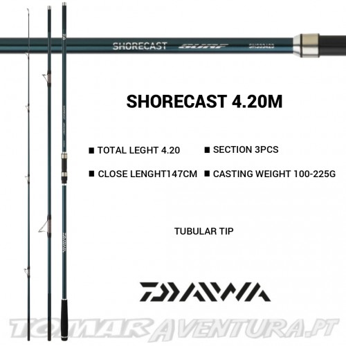 Cana Surfcasting Daiwa Shorecast Surf 420 Tubular