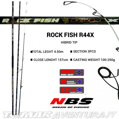 Cana Surf Casting NBS Rock Fish R44X 4.5M