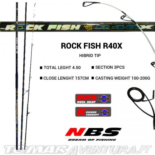 Cana Surf Casting NBS Rock Fish R40X 4.5M Hibrida