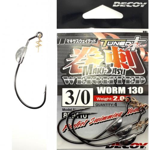 Decoy Worm 130 Makisasu Weighted