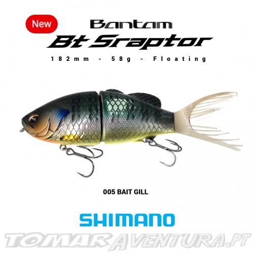 Swimbait Shimano Bantam BT Sraptor