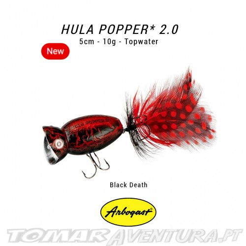 Popper Arbogast Hula Popper 2.0