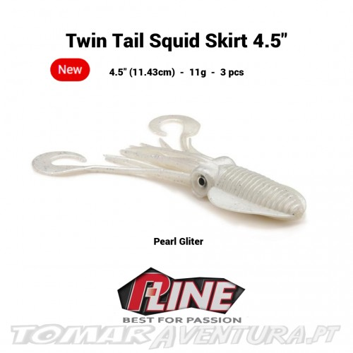 P-Line Twin Tail Squid Skirt 4.5""
