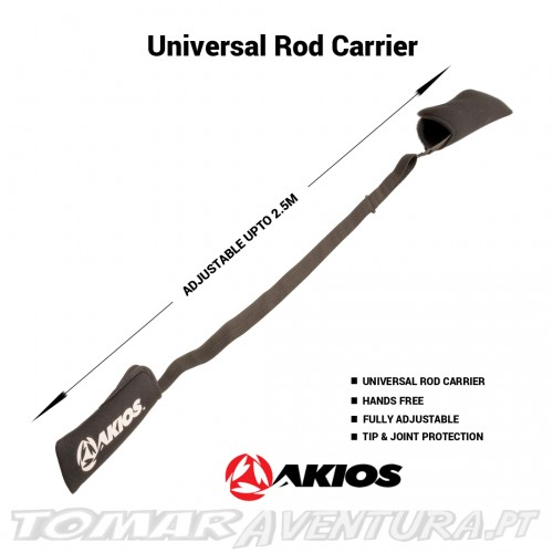 Akios Universal Rod Carrier