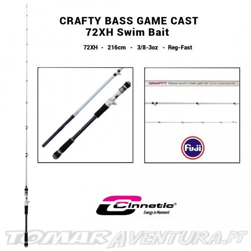 Cana Cinnetic Crafty Bass Game Cast Swim Bait 72XH 8515