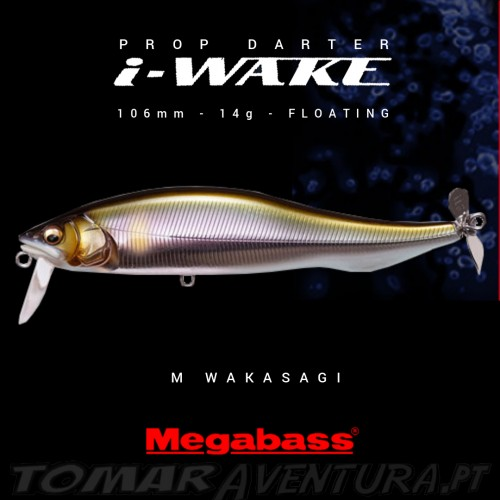 Megabass Prop Darter I-WAKE