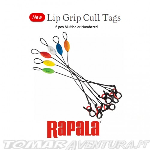 Rapala Lip Grip Cull Tags