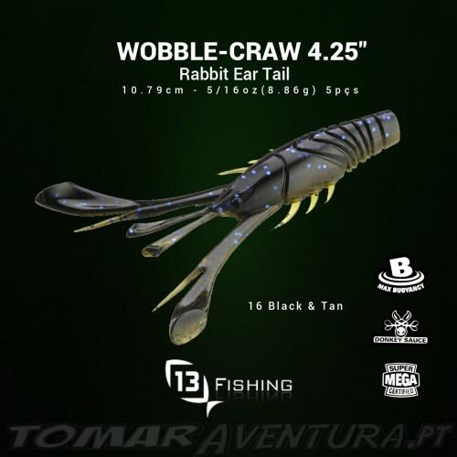 "13 Fishing Wobble-Craw 4.25"""