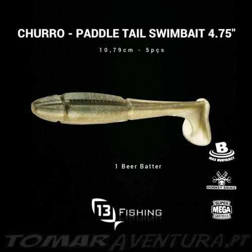 """13 Fishing Churro Swimbait 4.75"""""""