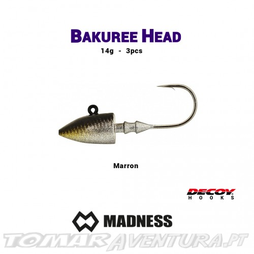 Jig Head Madness Bakuree Head
