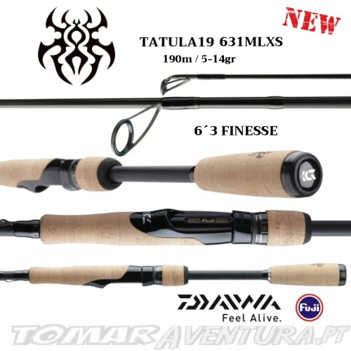Cana Spinning Daiwa Tatula 19 SPINNING 631MLXS