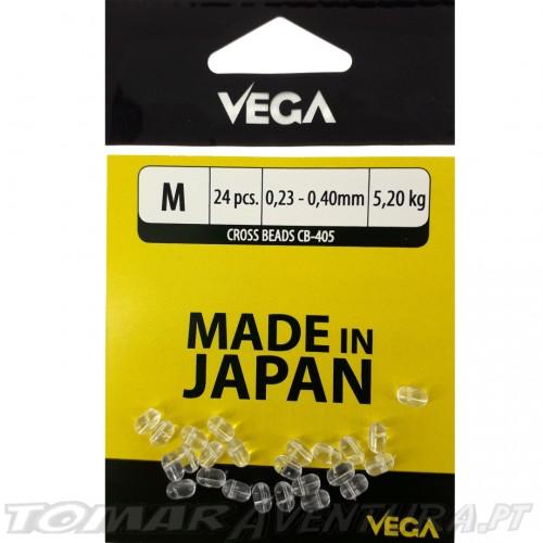 Vega Cross Beads CB-405