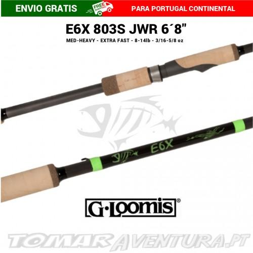 Cana Spinning G-Loomis E6X E6X 803S JWR 6'8''