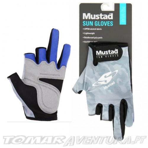 Luvas Mustad Sun Gloves