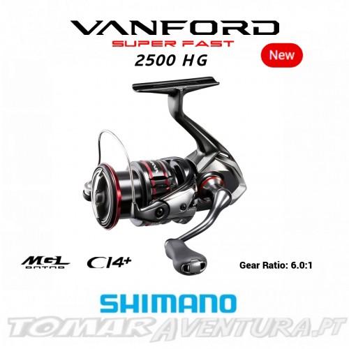 Carreto Spinning Shimano Vanford 2500HG