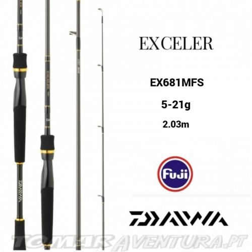 Cana Spining Daiwa Exceler 681MFS