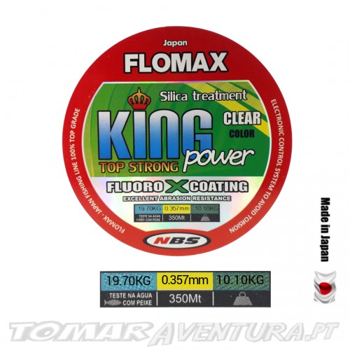 Linha Flomax King Power Top Strong Clear