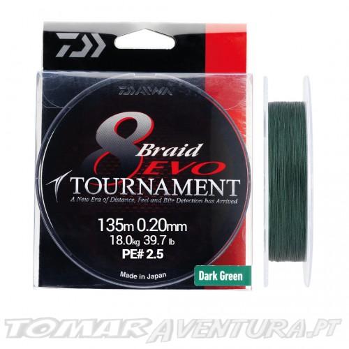 Daiwa Tournament 8 Braid EVO