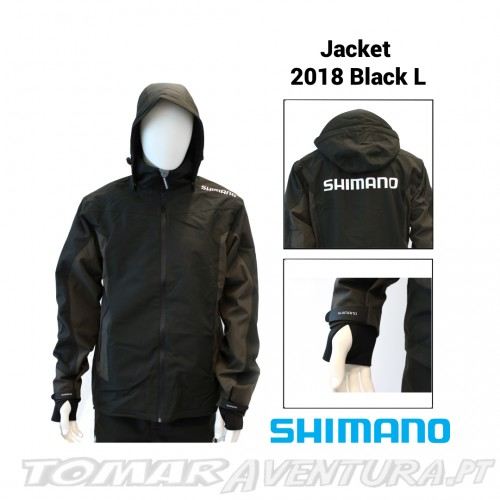 Shimano Jacket 2018 Black