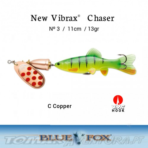 Amostra Blue Fox Vibrax Chaser 3