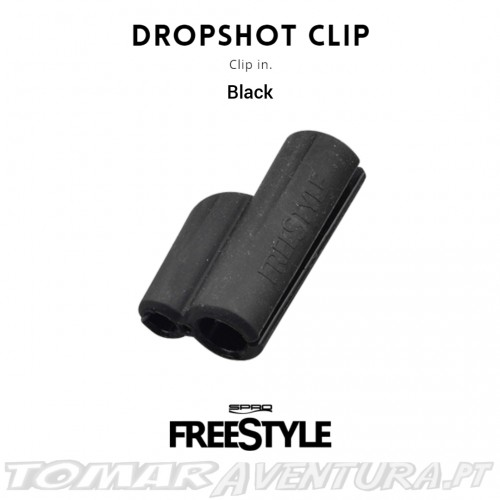 Spro Freestyle dropshot Clip Black