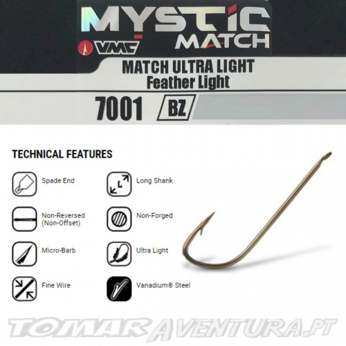 VMC 7001 - MYSTIC® MATCH Feather Light