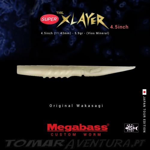 Megabass Super X Layer 4.5 inch