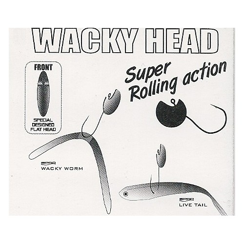 Anzol Gamakatsu Wacky Head Super Rolling Action