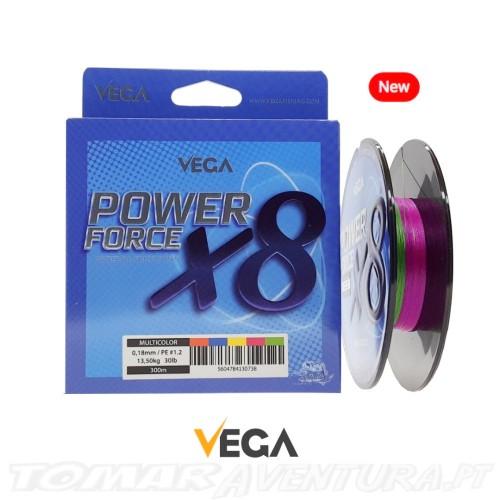 Vega Power Force X8 Multicolor 300m