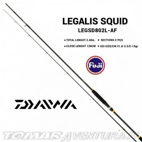Cana Daiwa Legalis Squid 802L