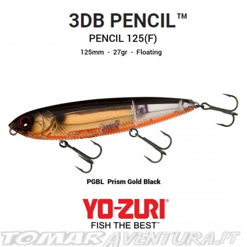 """Yo-Zuri 3DR Pencil 5"""" (F)"""