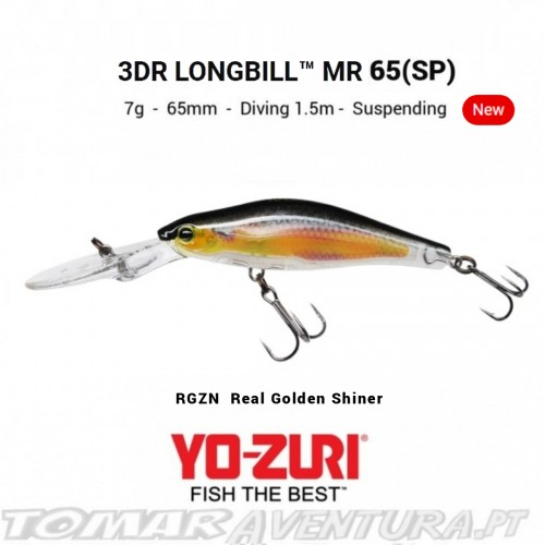 Yo-Zuri 3DR Longbill 65 (SP)