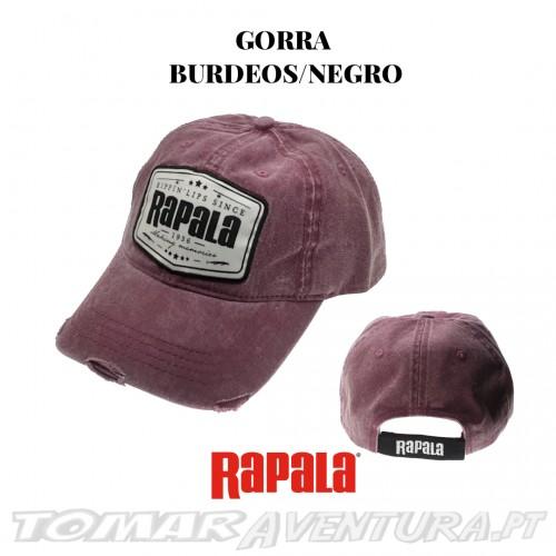Chapeu Rapala Gorro Burdeos/Negro