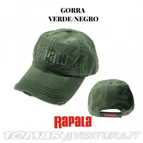 Chapeu Rapala Gorro Verde/Negro