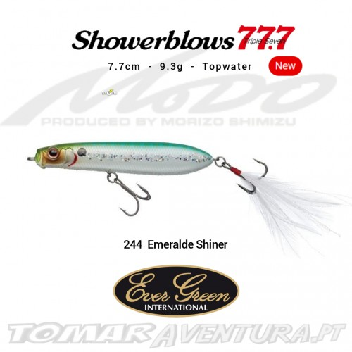 Amostra Ever Green Showerblows 77.7