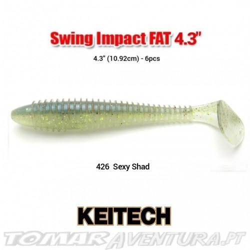 Swimbait Keitech Swing Impact Shad