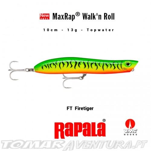 Rapala Max Rap Walk´n Roll 10cm